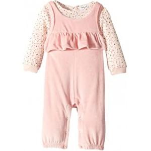 Velour Overalls Set (Infant)
