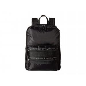 Captain's Quarter Top Zip Backpack Black