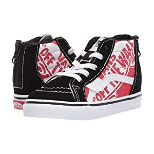 Sk8-Hi Zip (Infant/Toddler) (OTW Quarter) Heel Scab/Black/True White