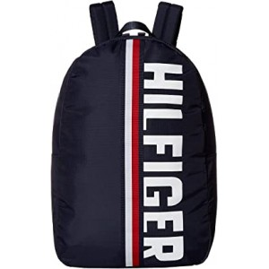Knox Hilfiger Rip Stop Nylon Backpack Tommy Navy