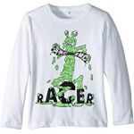 Gene Racer Long Sleeve Jersey Tee (Toddler/Little Kids/Big Kids)