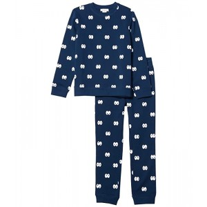 Cartoon Eyes Sweat Suit Set (Toddler/Little Kids/Big Kids)