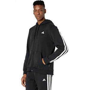 Winter Fleece 3-Stripes Full Zip Hoodie