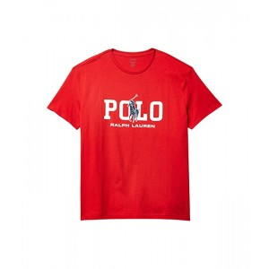 Polo Ralph Lauren Classic Fit Graphic Tee Shirt Red