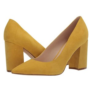 Nine West Cara Pump Yellow