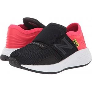 New Balance Kids Fresh Foam Roav (Infantu002FToddler) Black/Energy Red