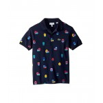 Video Game Print Pique Polo (Infant/Toddler/Little Kids/Big Kids)