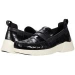COACH Croc Hybrid Loafer Black