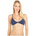 Solid Beach Classics Athletic Tri Bikini Top