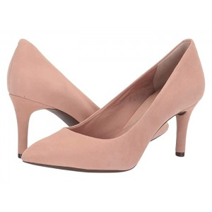 Total Motion 75mm Pointy Toe Pump Dusty Peach