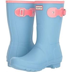 Original Short Color Block Rain Boot Pale Blue Colour Block