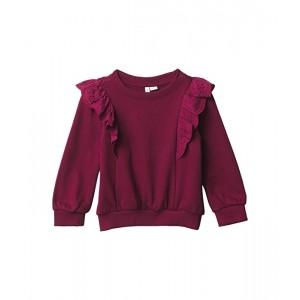 Eyelet Sweatshirt (Toddler/Little Kids/Big Kids)