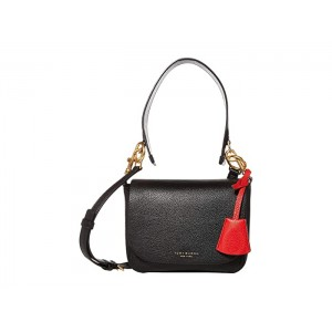 Perry Flap Crossbody Black