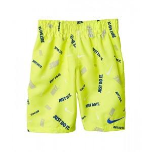 Nike Kids Logofetti Shorts (Big Kids) Lemon Venom