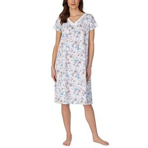 Soft Jersey Short Sleeve Waltz Gown