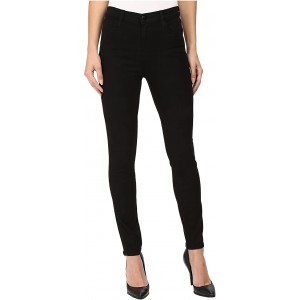 J Brand Maria High-Rise Skinny in Seriously Black Seriously Black