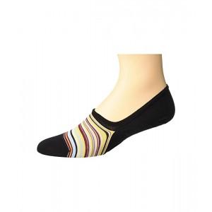 Multistripe No Show Sock