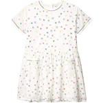 Short Sleeve Stars Embroidered Dress (Toddler/Little Kids/Big Kids)