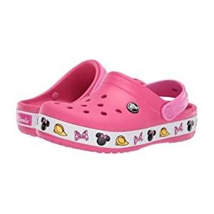 Crocband Minnie Clog (Toddler/Little Kid) Paradise Pink