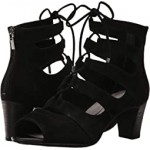Total Motion Audrina Ghillie Black Suede