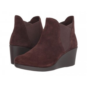 Leigh Wedge Chelsea Boot Espresso