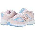 New Balance Kids 990v5 (Infantu002FToddler) Cherry Blossom/Team Carolina Blue