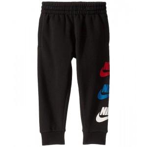 Nike Kids Sportswear Sueded Jogger Pants (Toddler) Black/University Red