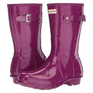 Original Short Gloss Rain Boots Violet