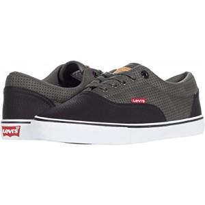Levis Shoes Kali Two-Tone Wax Black/Charcoal