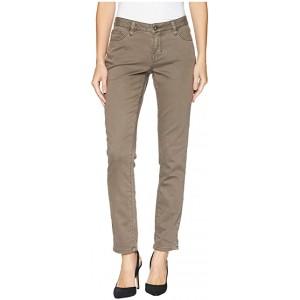 Carter Girlfriend Knit Denim Jeans Doe