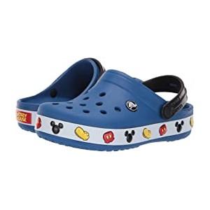 Crocband Mickey Clog (Toddler/Little Kid) Blue Jean