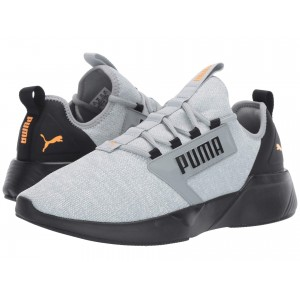 Retaliate Knit Quarry/Puma White/Puma Black/Orange Pop