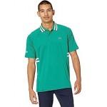 Short Sleeve ND Side Rib Hit Semi Fancy Polo