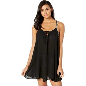 Solid Beach Classics Cover-Up Dress