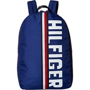 Knox Hilfiger Rip Stop Nylon Backpack Cobalt