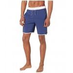 adidas 3-Stripes CLX Shorts - Classic Length Swimwear Tech Indigo