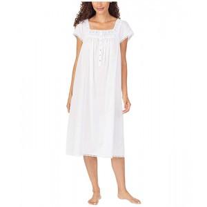 Cotton Lawn Woven Cap Sleeve Waltz Nightgown