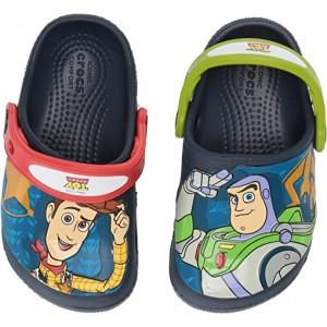 Crocs Kids CrocsFunLab Buzz Woody Clog (Toddleru002FLittle Kid) Navy