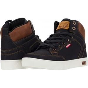 Levis Shoes Walker Wax Black/Tan