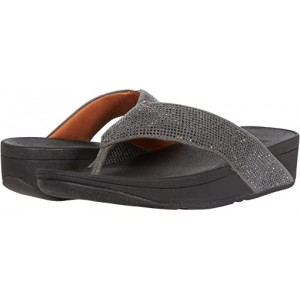 FitFlop Ritzy Toe Thong Sandals Pewter 2