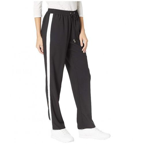 마이클 코어스 Stripe Track Pants Black/White
