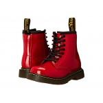 1460 Toddler Brooklee Boot (Toddler) Red Patent Lamper