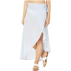 Amanda Wrap Skirt Blue Bell