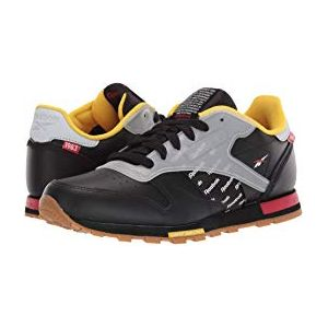 CL Leather ATI (Big Kid) Black/Excellent Red/Nucle