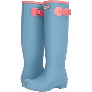Original Tall Color Block Rain Boot Pale Blue Colour Block