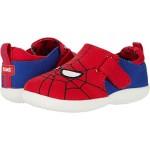 TOMS Kids Whiley (Infantu002FToddler) Red Marvel Spider Man Face Print