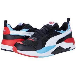 PUMA X-Ray Color-Block Puma Black/Puma White/Etheral Blue/High-Risk Red