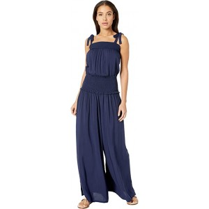 Smocked Jumpsuit Tory Navy