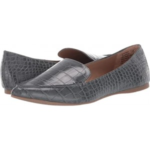 Steve Madden Feather Loafer Grey Croco