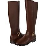 COACH Farrah Leather Boot Walnut
